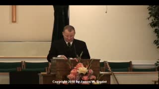 Sermon - The Power Of God's Word Changes Lives, by James W. Bryant, 2010