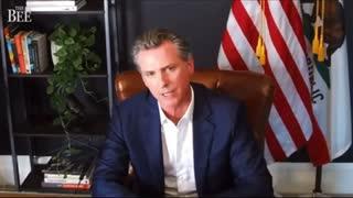 California Governor Gavin Newsom getting Grilled