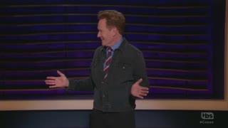 Conan O'Brien jokes about Trump impeachment