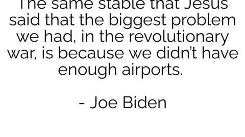 Joe Biden The Walking Meme - what will he say next?