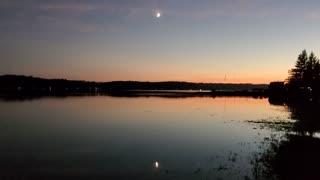 Moon over Sunset