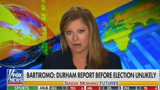 Bartiromo: Durham Report Before Election Unlikely