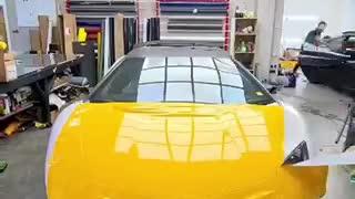 Lamborghini aventador plotada.