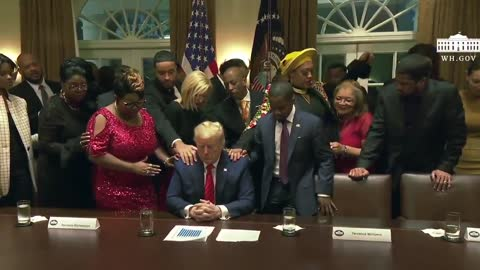 Praying for President Trump, his family and the success of our Country