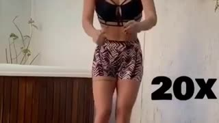 Women work out