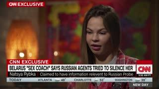 Russian sex coach Anastasia Vashukevich interview w/CNN