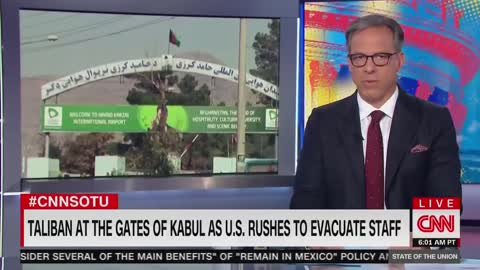 """Jake Tapper: We are """"watching a tragic foreign policy disaster unfold before our eyes..."""