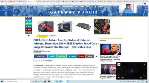 BREAKING: Antrim County – Judge Overrules In Favor Of Trump