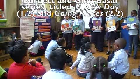 Kindergarteners Learn to Read