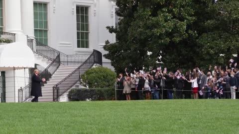 有川普总统在白宫的日子多好! 川普总统赢得大选/希望很快还川普总统一个公道