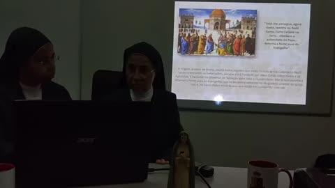 A aparição de Nossa Senhora da revelação - Madre Rebecca