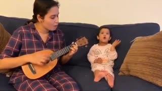 mother teach her daughter 😱😱