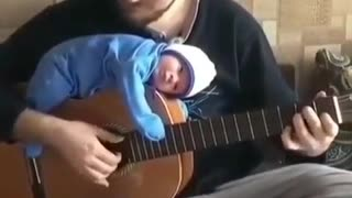 Very cute baby and father 😍 ( Family )