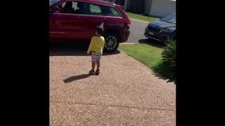 Boy Celebrates Quarantine Birthday