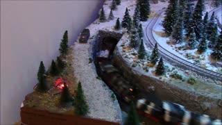 """WWII era German Town, """"Briskenstein"""", Marklin HO Scale Model Railroad Layout"""