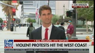 Report on Los Angeles protests