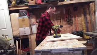 Trashcan Cabinet Build