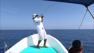 Sail Fish Caught in Costa Rica and Released