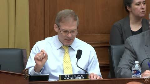 Rep. Jim Jordan Opening Statement during Full Committee Markup 6.23.2021