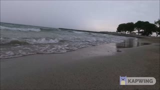 Relaxing, Soothing, Stress relief of breaking waves