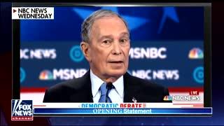 Judge Jeanine Trump Bloomberg comparison take 1