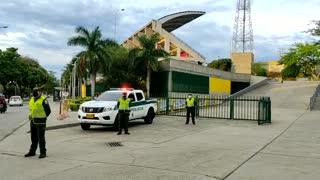 Más de 300 Policías están vigilando Bucaramanga y el área por el partido ante Nacional