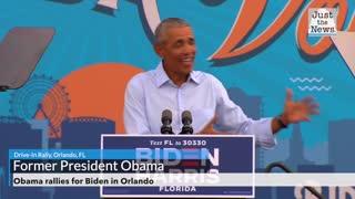 Obama rallies for Biden in Orlando