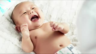 Music to make babies laugh