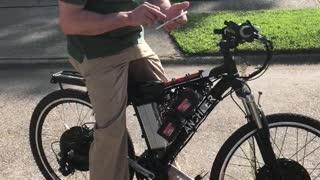 Homemade Electric Bike Has Impressive Power