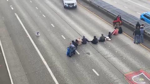2021年1月18日 美國🇺🇸/BLM堵西雅圖高速公路/為什麼?