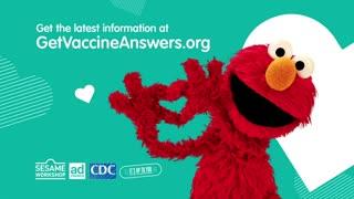 Sesame Street pushing VACCINE
