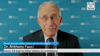Fauci: CA had no other choice on restrictions