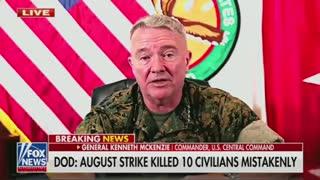 Gen. McKenzie on August's drone strike in Afghanistan