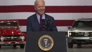 Joe Biden being funny