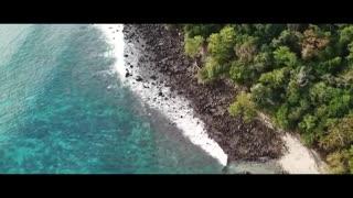 Beautiful Beaches Drone Shots