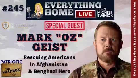 """MARK """"OZ"""" GEIST   Benghazi Hero - Afghanistan Isn't A Failure...It's Their Plan! He's Now Rescuing Americans Held Hostage Behind Taliban Enemy Lines Because Our Government CHOSE To Abandon Them!"""