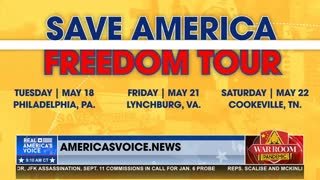 Real America's Voice Kicks Off Save America Freedom Tour from Independence Hall