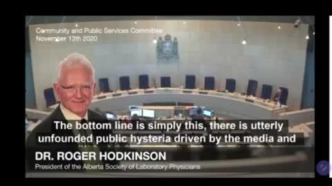Top Pathologist Dr Roger Hodkinson Says