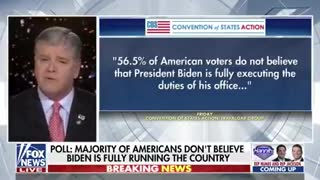 Breaking: Poll shows majority of American voters don't think Joe Biden is in charge.
