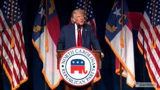 Trump Speaks at North Carolina GOP Convention