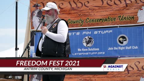 Mike Lindell At Freedom Fest 2021 Antrim Michigan