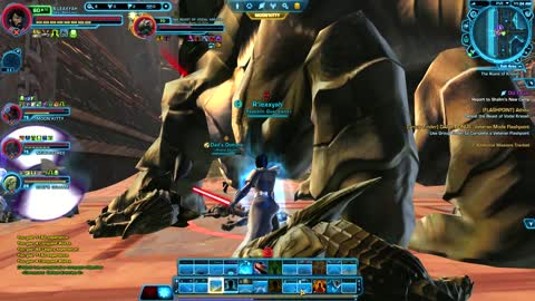 Star Wars The Old Republic Gameplay: Flashpoint