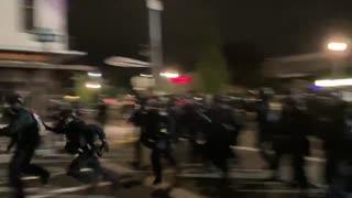 The feds rush antifa in Portland