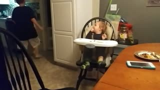 Making His Little Brother Laugh