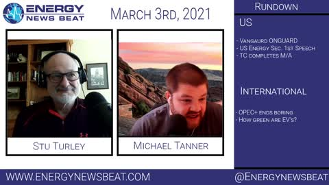 Green anyone? The Daily Energy News Beat Markets show 3-3
