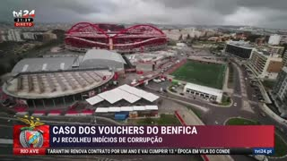 TVI revela que PJ suspeita de corrupção em refeições de 600 euros em vouchers do Benfica
