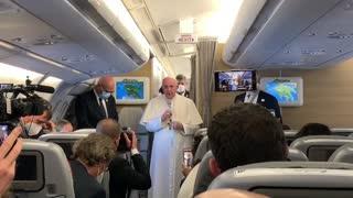 Papa pidió desde Iraq compromiso para llevar la paz a todo Oriente Medio