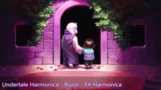 Undertale Harmonica - Ruins - F# Harmonica