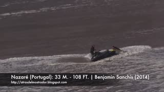 biggest waves ever recorded in history