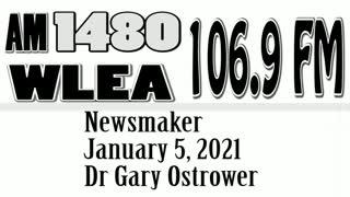 Wlea Newsmaker, January 5, 2021, Dr Gary Ostrower